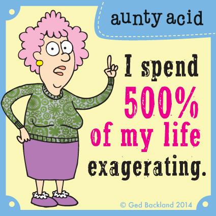 Aunty Acid for Oct 28, 2014 Comic Strip