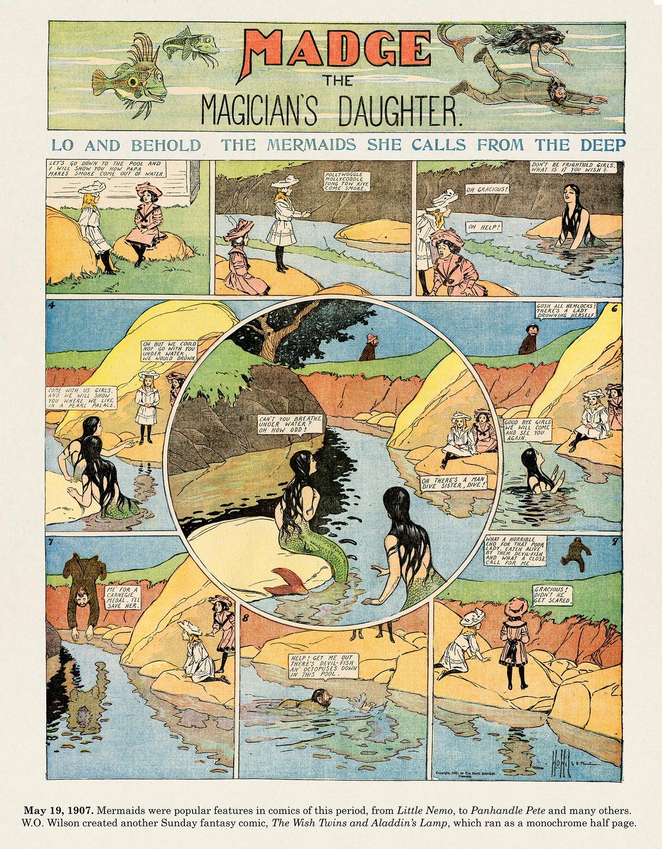 Origins of the Sunday Comics Comic Strip for February 15, 2015