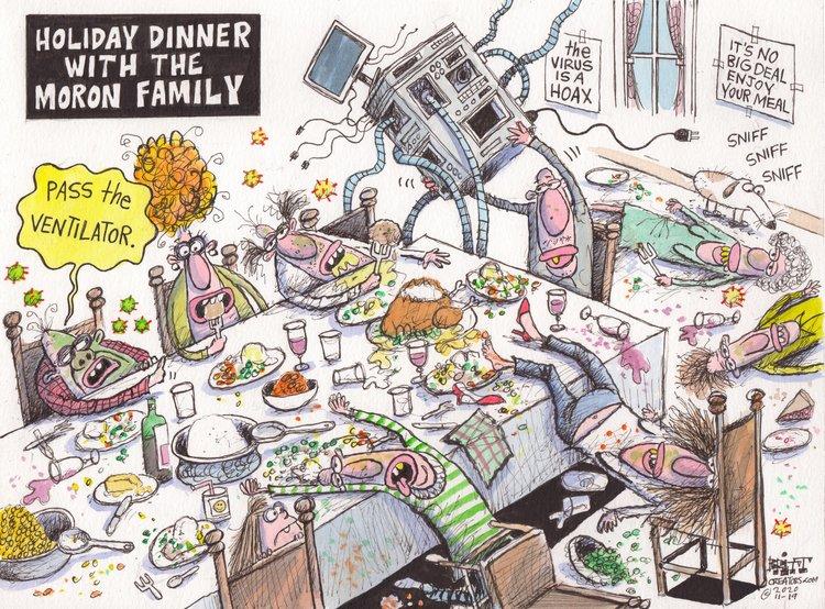 Chris Britt Comic Strip for November 19, 2020