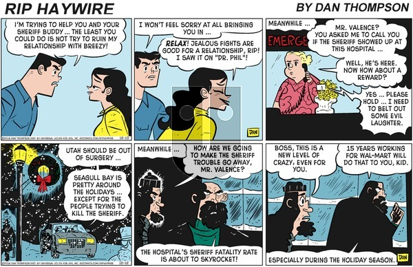 Rip Haywire on Sunday March 15, 2020 Comic Strip