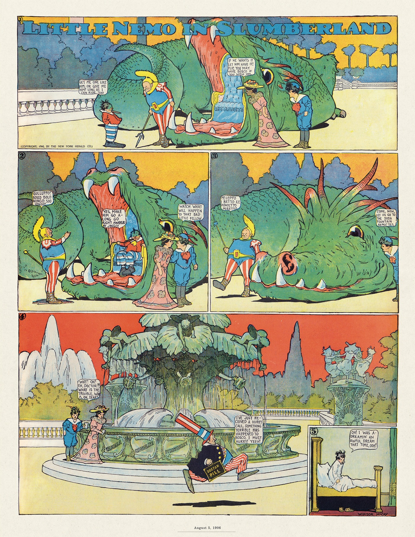 Little Nemo for May 18, 2017 Comic Strip