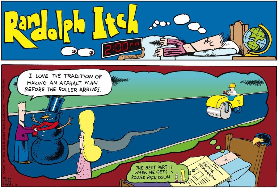 Randolph Itch, 2 a.m. Comic Strip for April 23, 2017