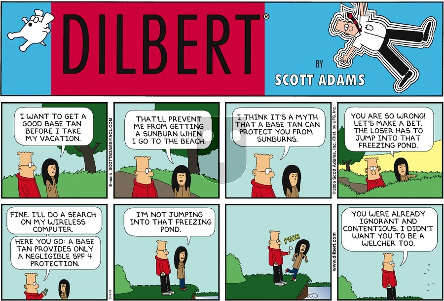 Purchase Comic Strip for 2005-09-18
