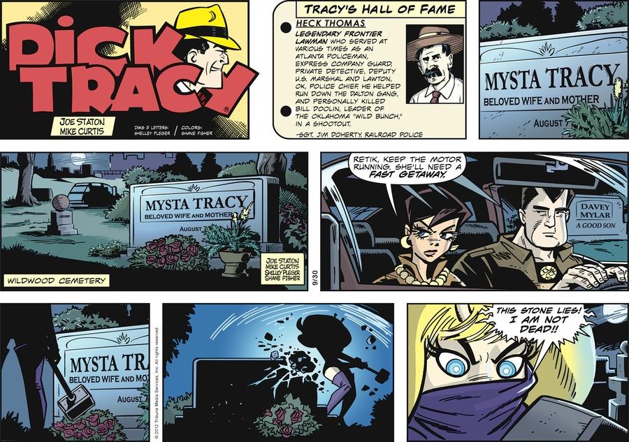 Dick Tracy Comic Strip for September 30, 2012