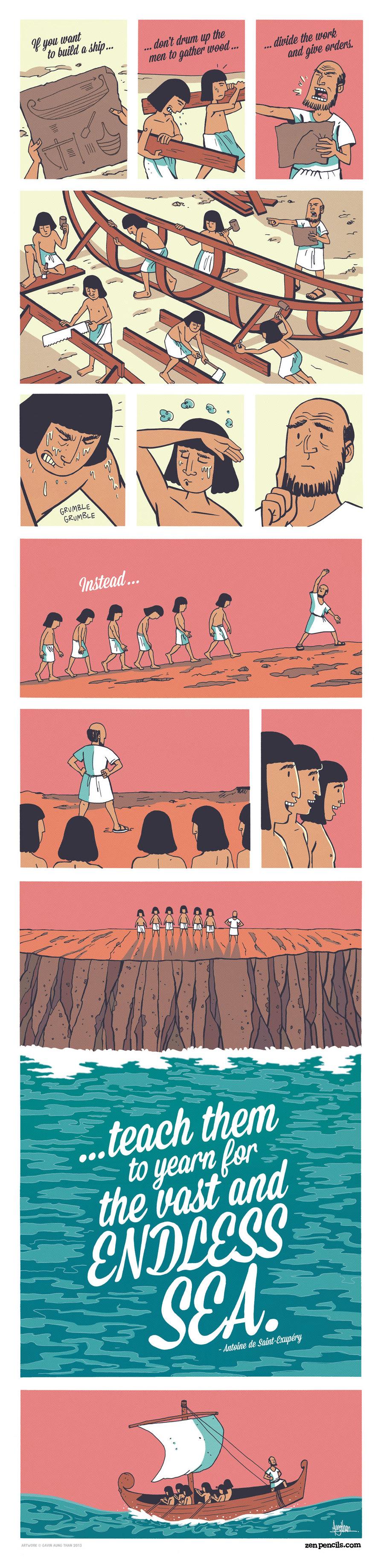 Zen Pencils Comic Strip for March 07, 2014