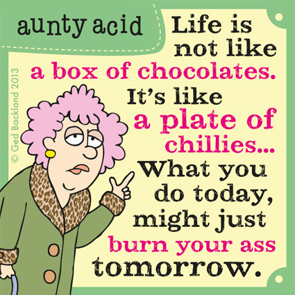 Aunty Acid for May 15, 2013 Comic Strip