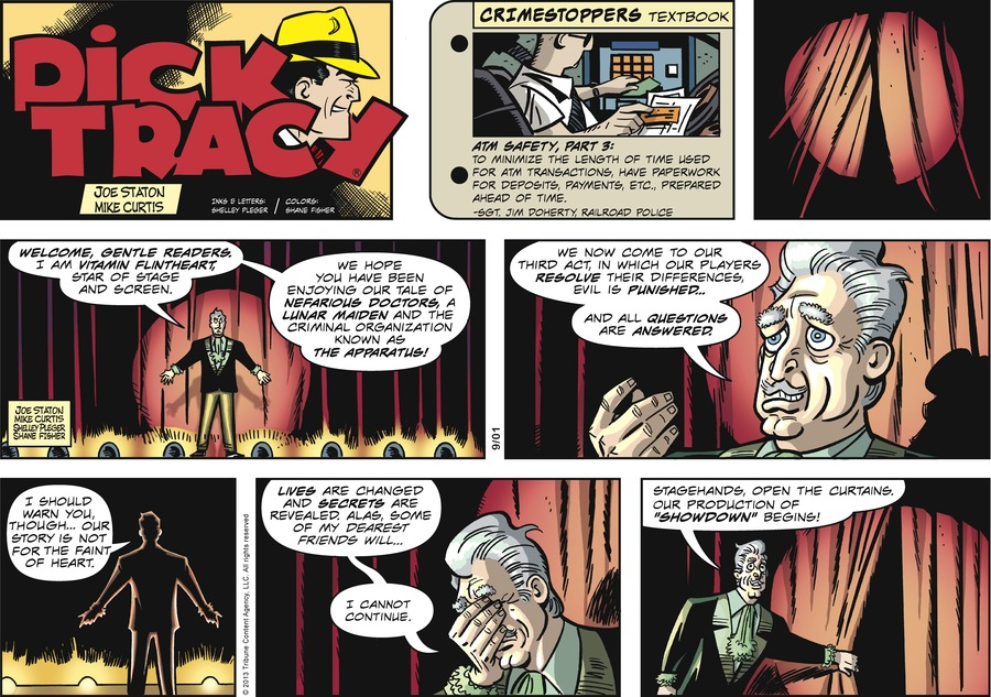 Dick Tracy Comic Strip for September 01, 2013