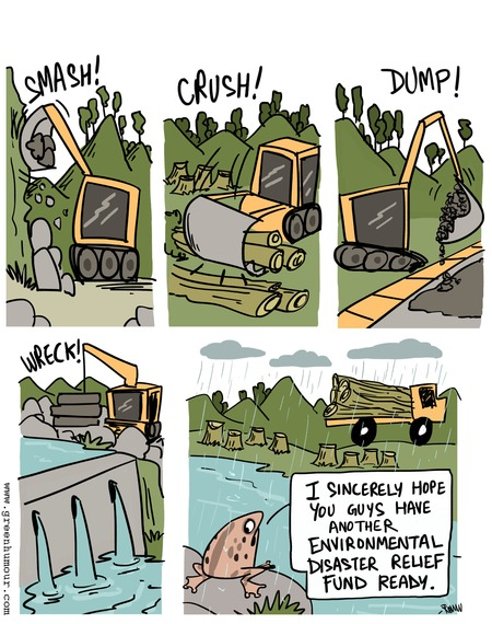 Green Humour Comic Strip for October 06, 2019