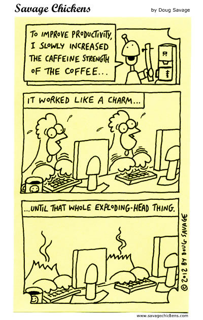 Savage Chickens Comic Strip for March 21, 2016