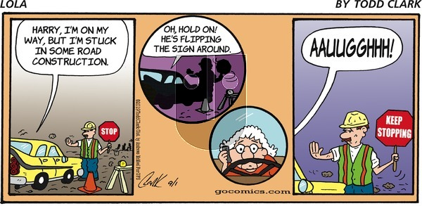Lola on Sunday September 1, 2019 Comic Strip