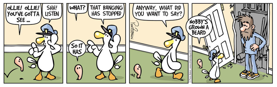 Ollie and Quentin Comic Strip for October 22, 2019