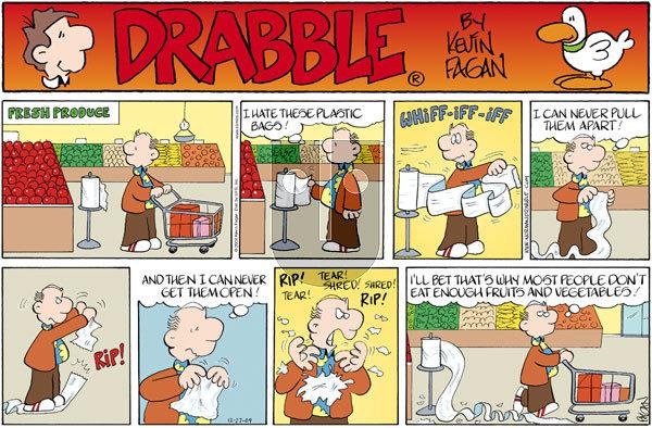 Drabble on Sunday December 27, 2009 Comic Strip