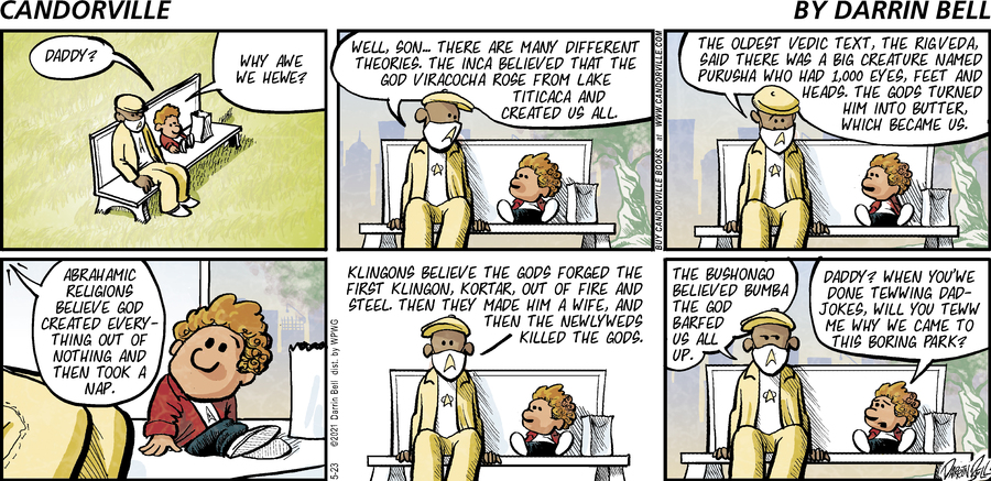 Candorville Comic Strip for May 23, 2021