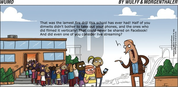 WuMo on Sunday October 13, 2019 Comic Strip