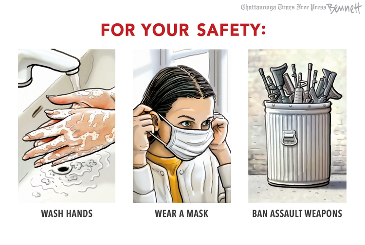Clay Bennett Comic Strip for March 24, 2021