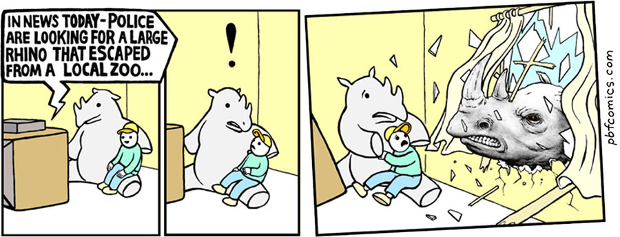 Perry Bible Fellowship by Nicholas Gurewitch for February 26, 2019