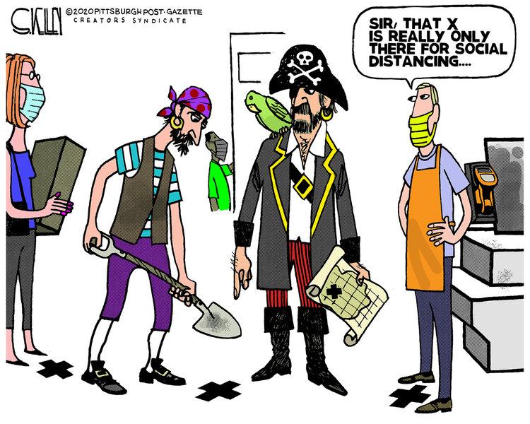 Steve Kelley Comic Strip for May 21, 2020