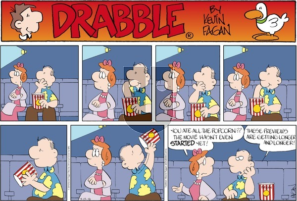 Drabble on Sunday March 13, 2016 Comic Strip
