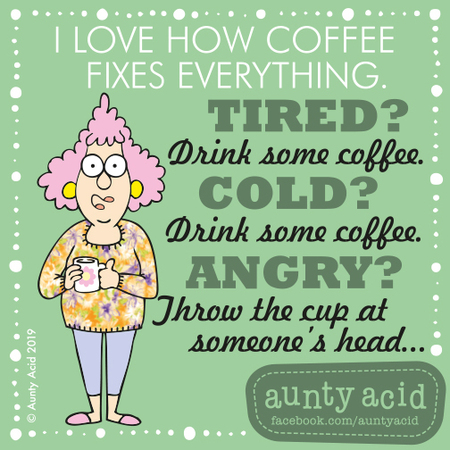 Aunty Acid by Ged Backland for June 25, 2019