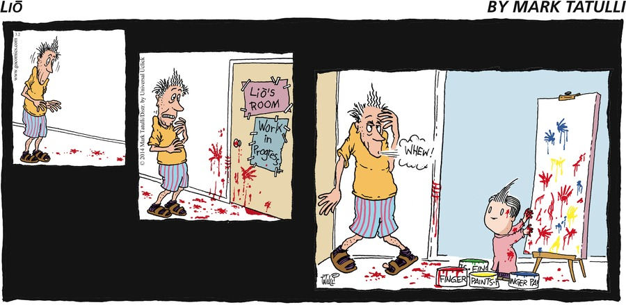 Lio for Mar 2, 2014 Comic Strip