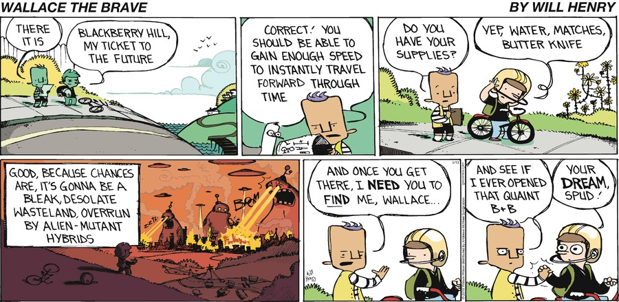 Wallace the Brave Comic Strip for May 13, 2018