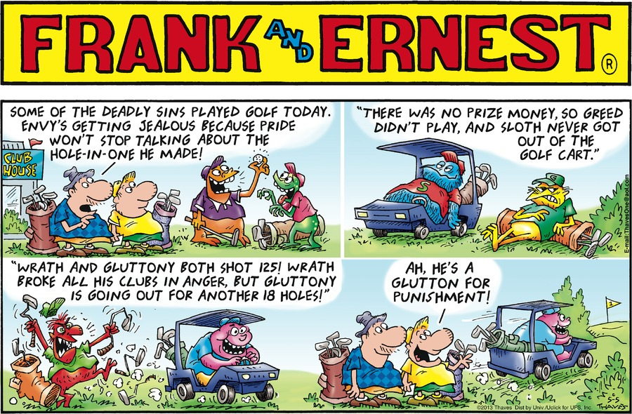 Frank and Ernest Comic Strip for May 05, 2013