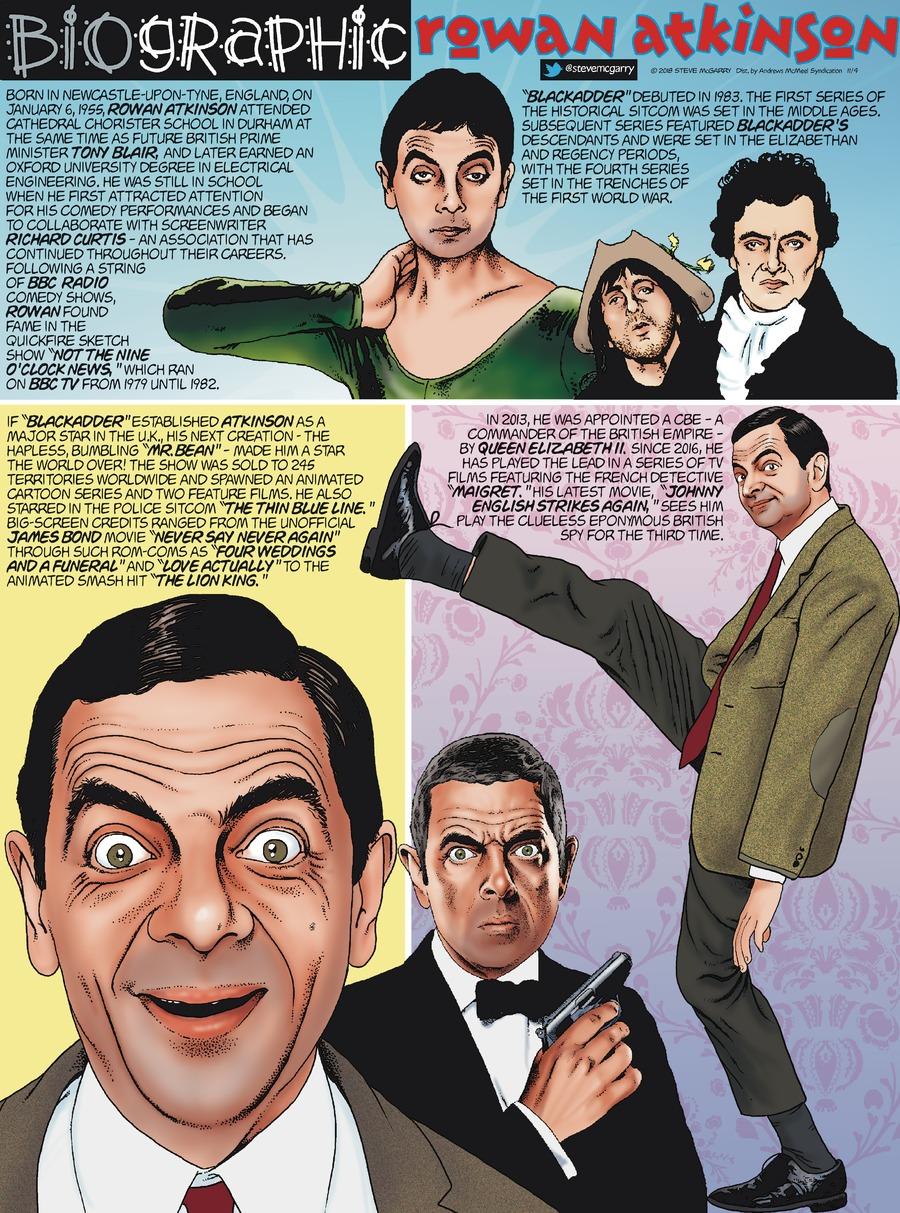 Biographic Comic Strip for November 04, 2018