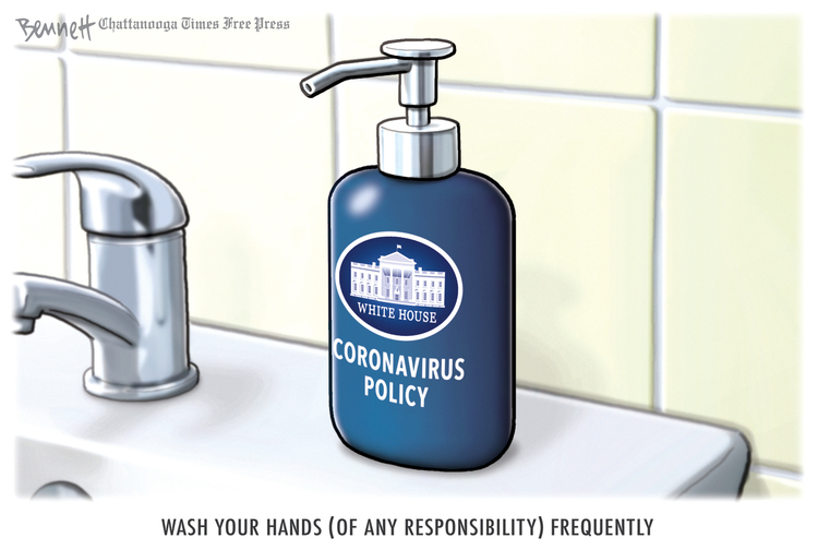 Clay Bennett by Clay Bennett on Wed, 06 May 2020