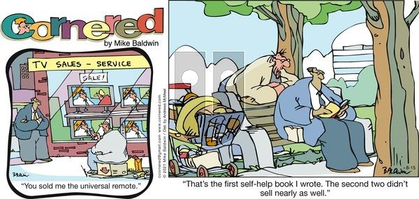 Cornered on Sunday August 15, 2021 Comic Strip