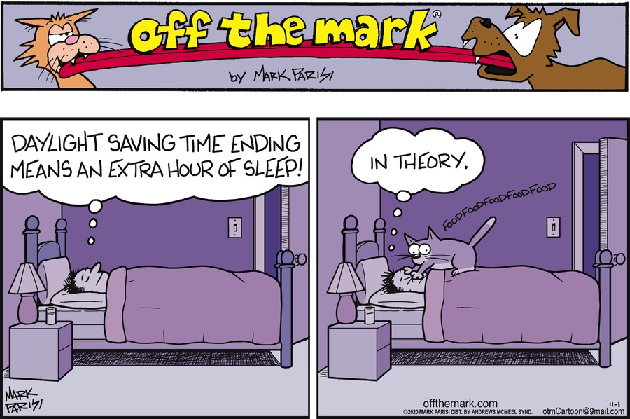 Off the Mark Comic Strip for November 01, 2020