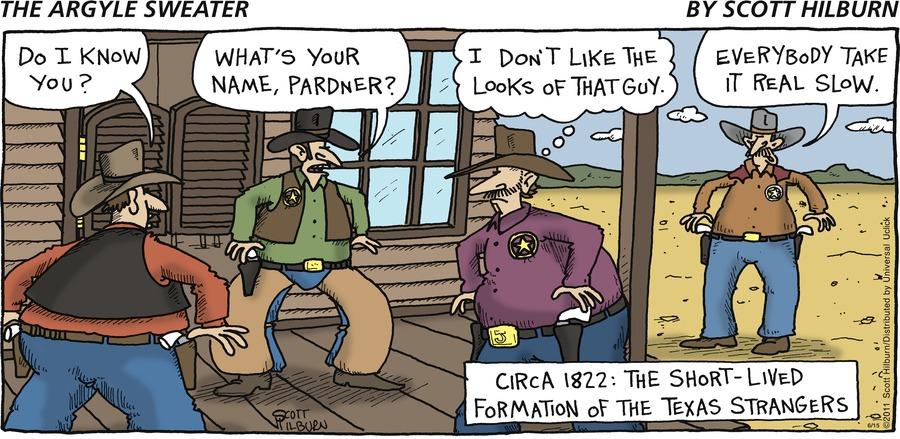 The Argyle Sweater for Jun 15, 2014 Comic Strip