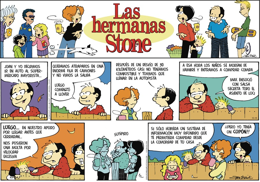 Las Hermanas Stone Comic Strip for October 18, 2020