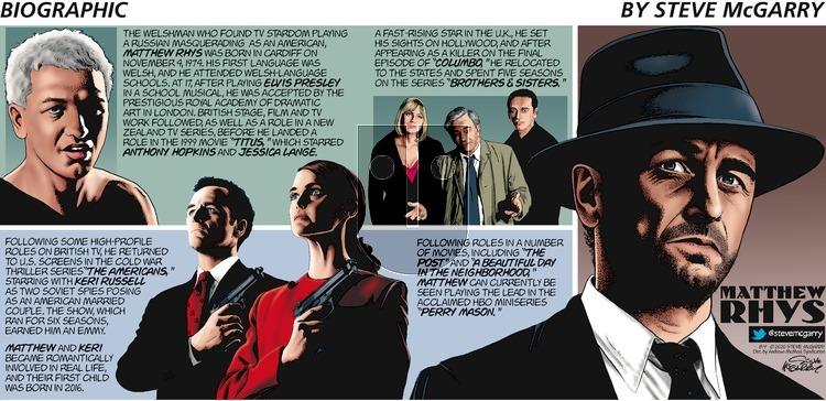 Biographic - Sunday August 9, 2020 Comic Strip