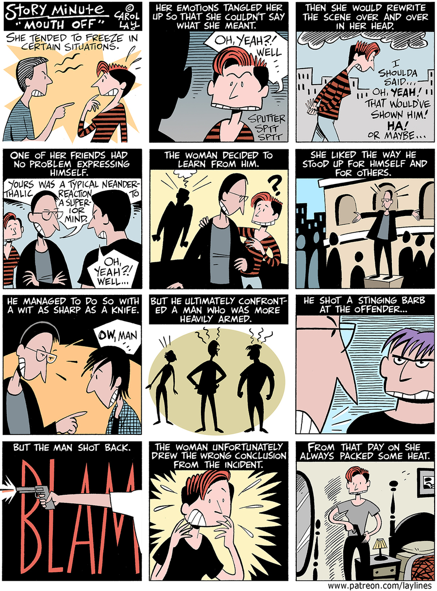 Lay Lines Comic Strip for June 24, 2019