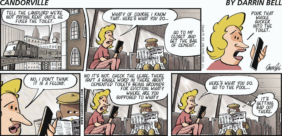 Candorville Comic Strip for January 17, 2021
