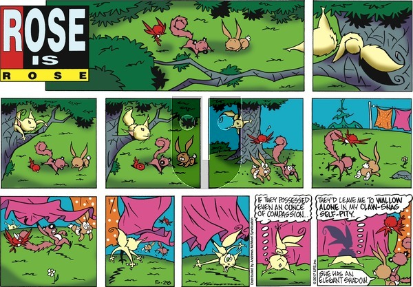 Rose is Rose on Sunday May 28, 2017 Comic Strip