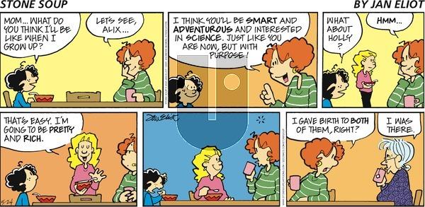 Stone Soup - Sunday May 24, 2020 Comic Strip