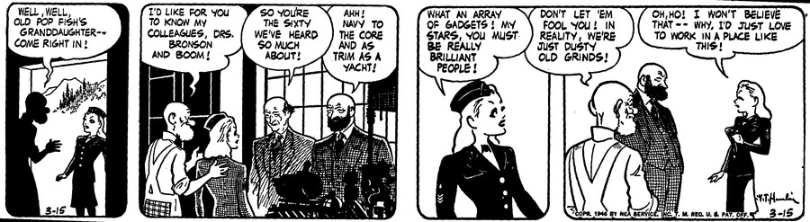 Alley Oop Comic Strip for March 15, 1946