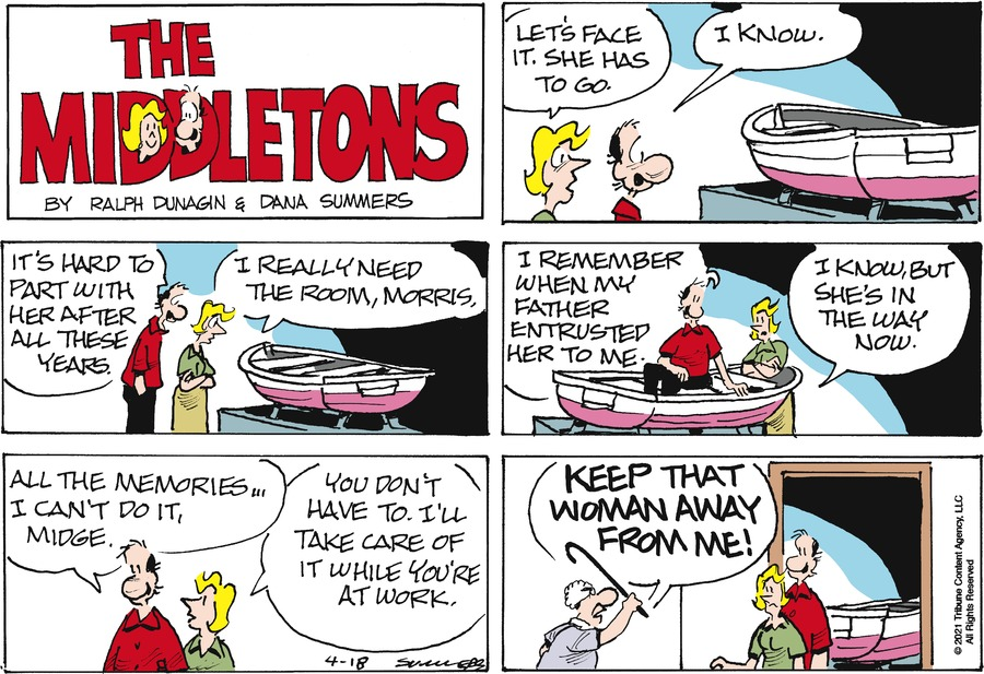 The Middletons Comic Strip for April 18, 2021