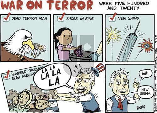 Matt Bors - Friday September 9, 2011 Comic Strip