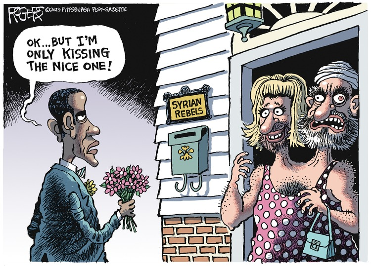 Rob Rogers Comic Strip for June 23, 2013