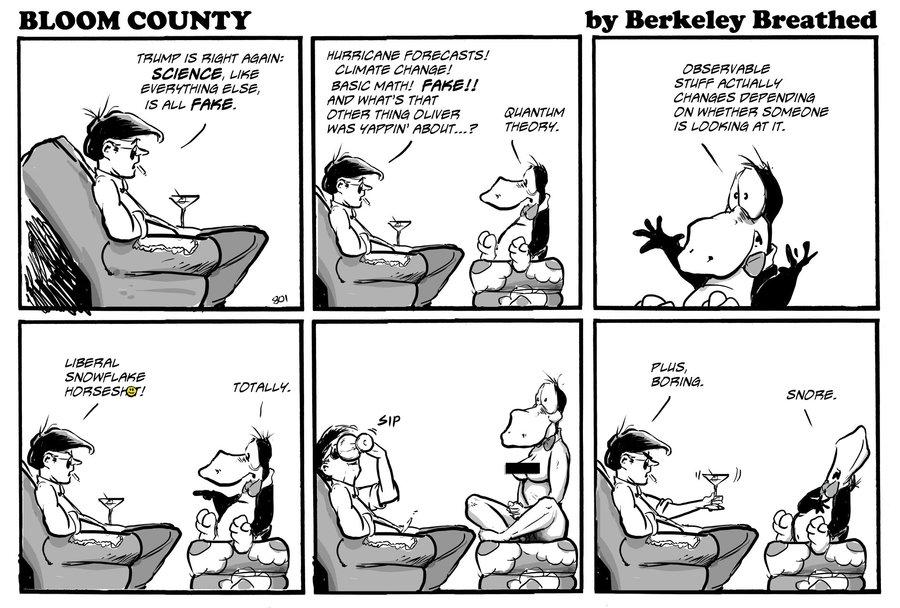 Bloom County 2019 Comic Strip for September 17, 2019