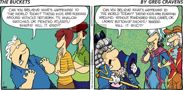 The Buckets - Sunday June 27, 2021 Comic Strip