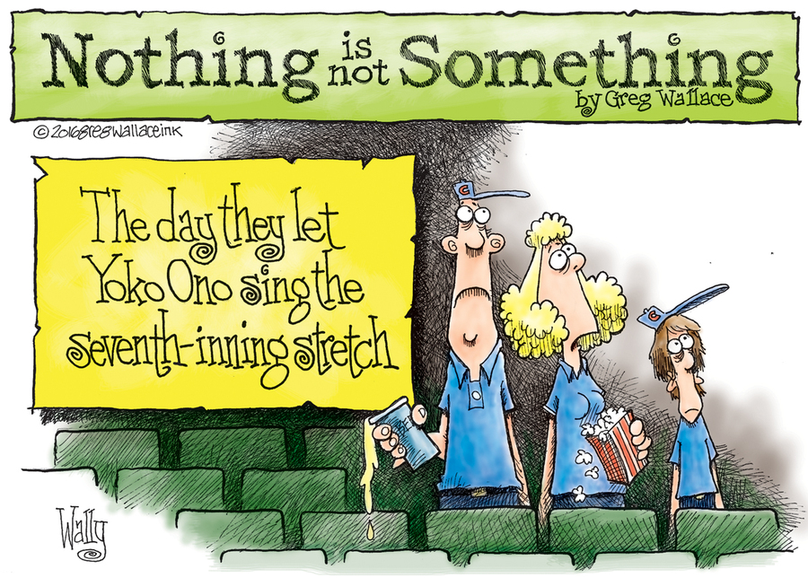 Nothing is Not Something Comic Strip for July 23, 2016