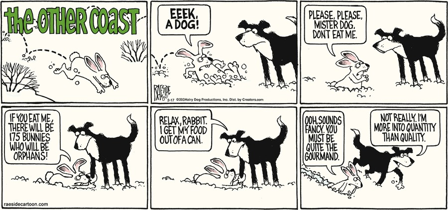 The Other Coast for Feb 17, 2013 Comic Strip