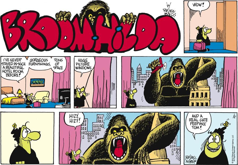 Broom Hilda Comic Strip for January 15, 2017
