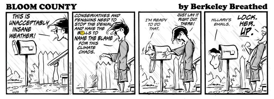 Bloom County 2018 for Sep 19, 2017 Comic Strip