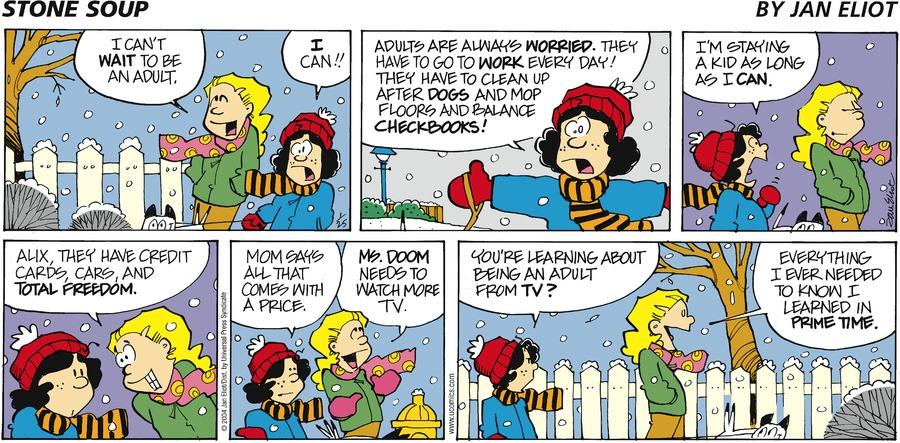 Stone Soup for Jan 25, 2004 Comic Strip