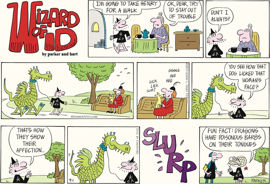Wizard of Id for Sep 1, 2013 Comic Strip