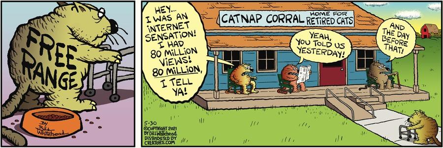 Free Range Comic Strip for May 30, 2021
